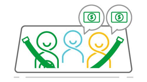 GRAB ra mắt Dịch vụ đi chung xe, tiết kiệm chi phí lên đến 30% | Grabshare 11