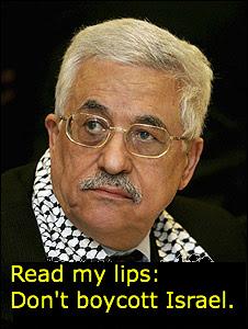 Mahmoud Abbas, Palestinian President.