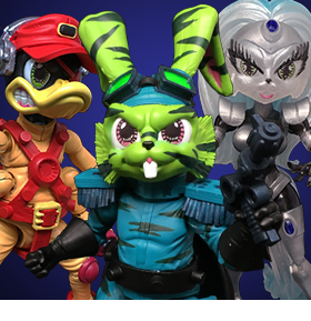 BOSS FIGHT STUDIOS BUCKY O'HARE FIGURES