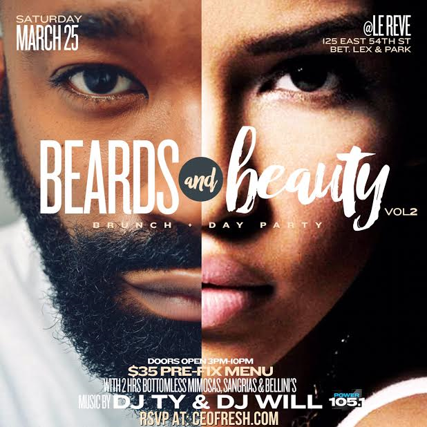 Beards N Beauty 2 Flyer