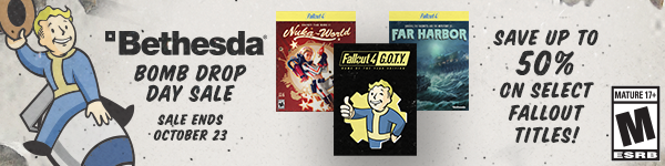 Fallout Shelter Sale
