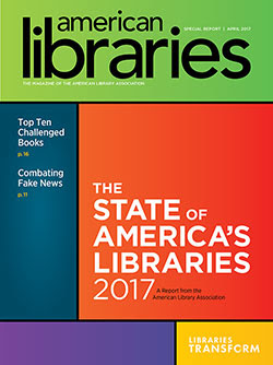 State of America's Libraries  2017 Cover