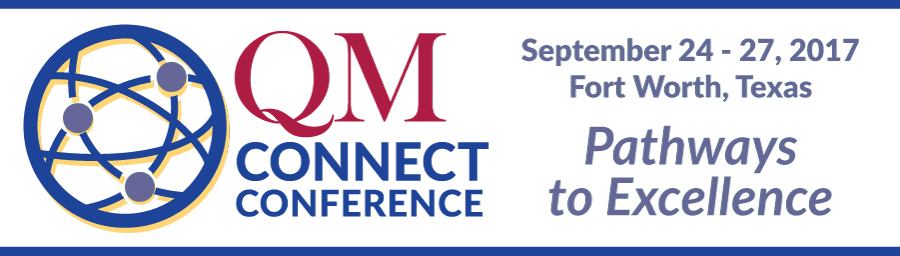 QM 8th Annual Conference on Quality Assurance in Portland, Oregon October 30 to November 2, 2016