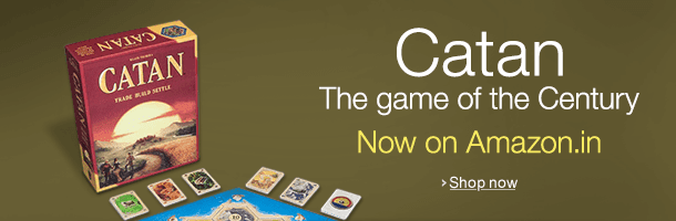 Catan - The Game of the Century now on Amazon.in