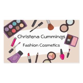Fashion Cosmetics Business Card