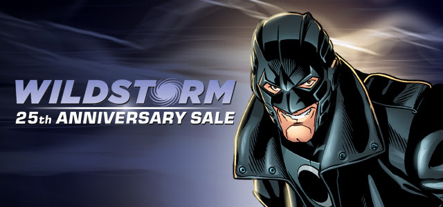 Wildstorm 25th Anniversary Digital Comics Sale