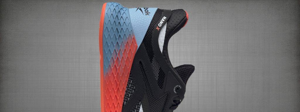 Reebok Nano X Materials