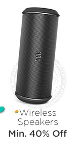 Wireless Speakers at Min.40% Off