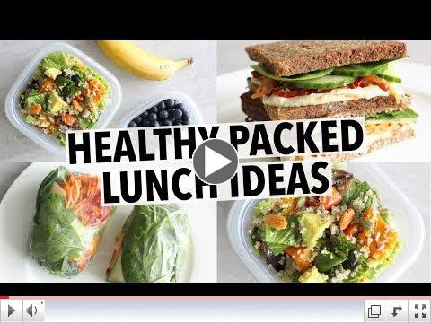 Get some new, healthy lunch ideas with these healthy recipes from Liezl Jayne Strydom