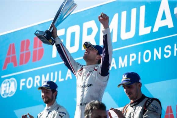 ENVISION VIRGIN RACING TO END SEASON ON A HIGH - Dutchman Robin Frijns secures second win of the season to finish fourth in standings - Independent team Envision Virgin Racing secure third place in teams' championship