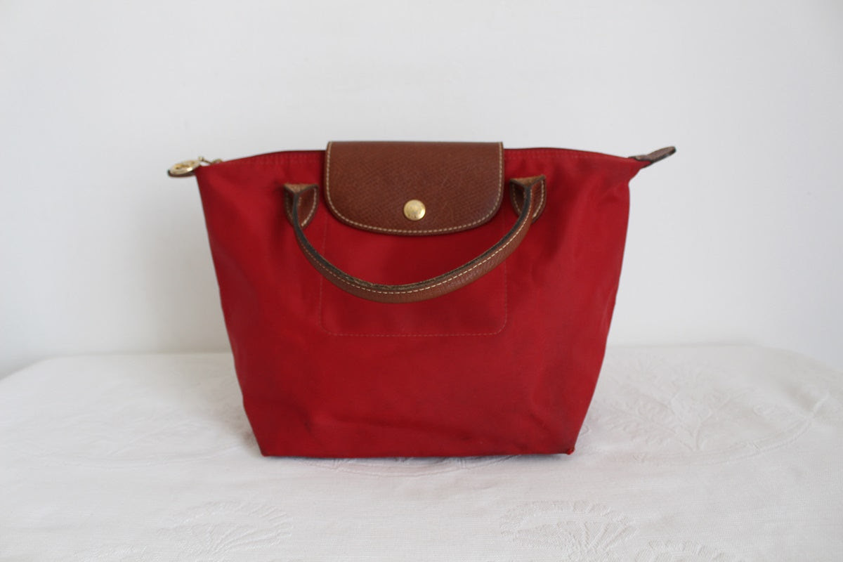 LONGCHAMP DESIGNER LE PLIAGE S BAG RED