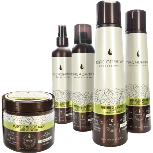 macadamia natural oil weightsless moisture