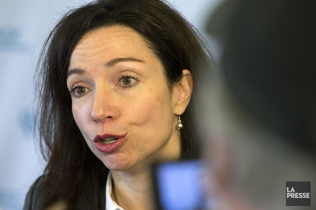 Martine Ouellet... (Photo Robert Skinner, archives La Presse)