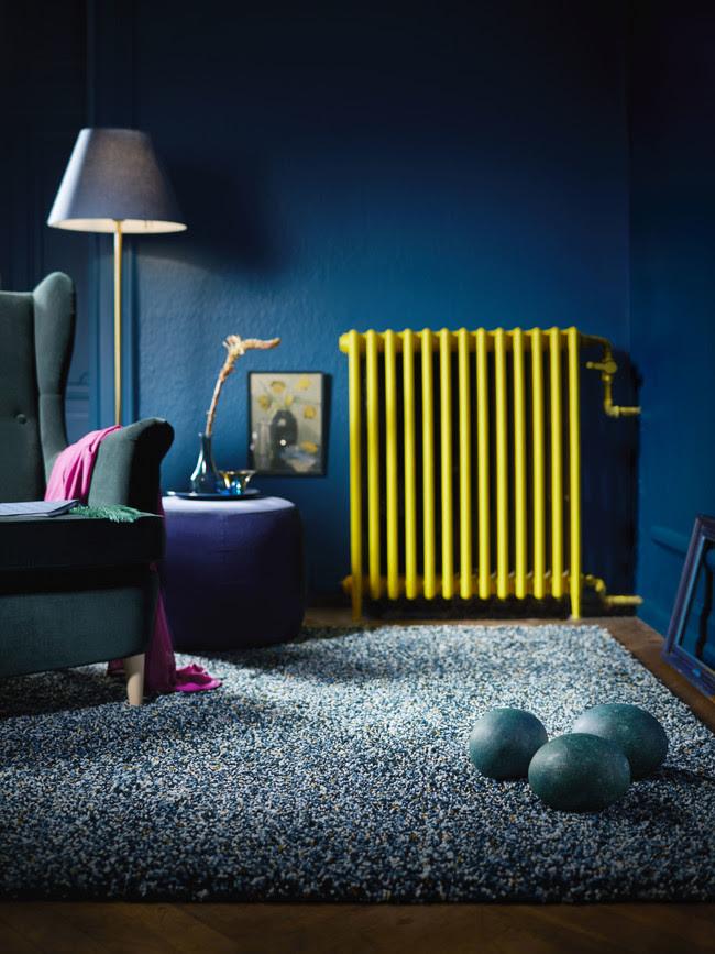 Ikea Novedades 2017 Ph144963 Vindum Alfombra Pelo Largo Polipropileno Latex Verde Azulado Lowres