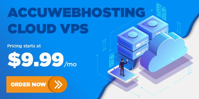 AccuWebHosting Cloud VPS
