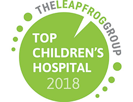 "The Leapfrog Group names Children's National Health System a 2018 ""Top Children's Hospital"""
