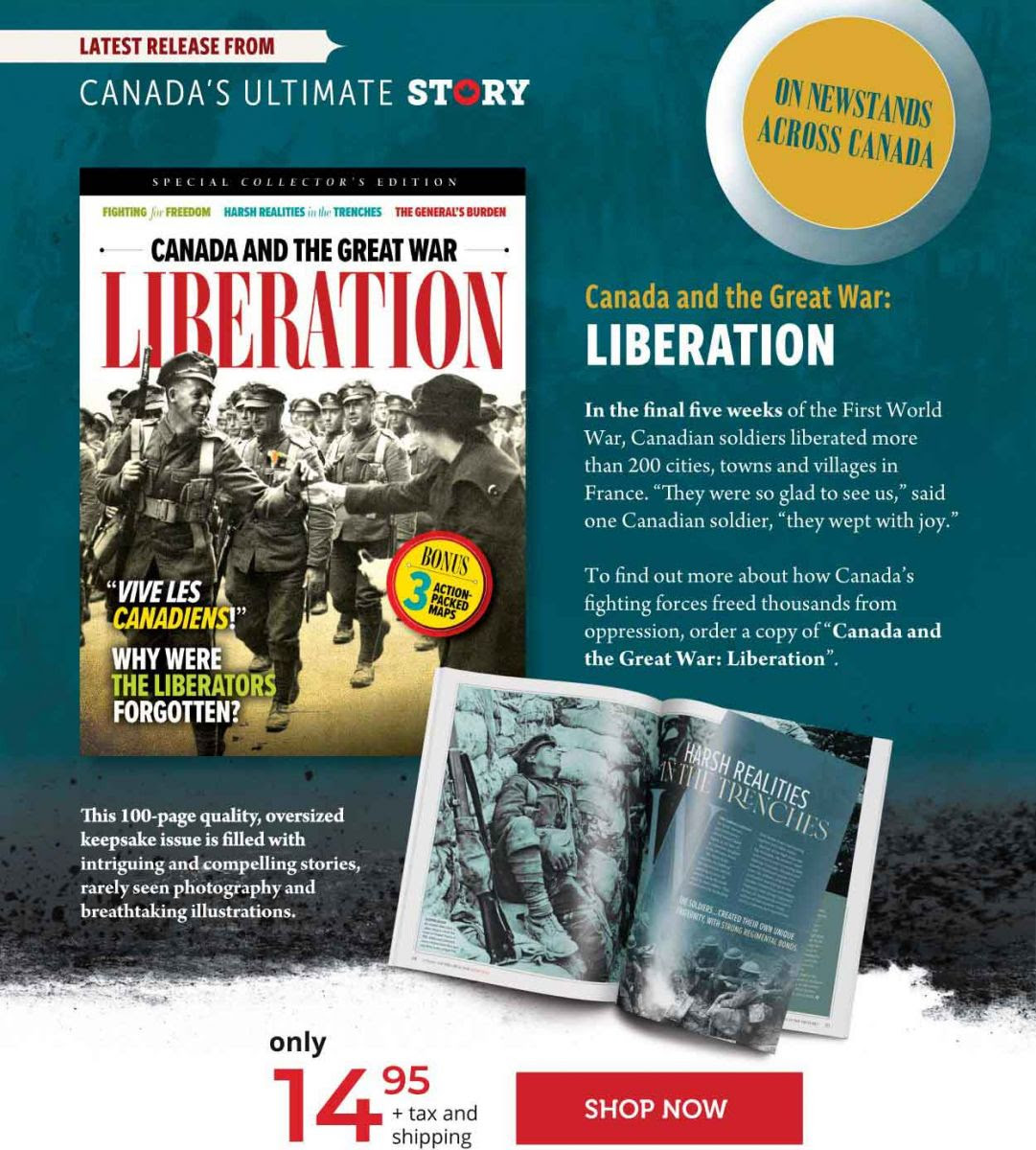 Canada and the Great War: Liberation