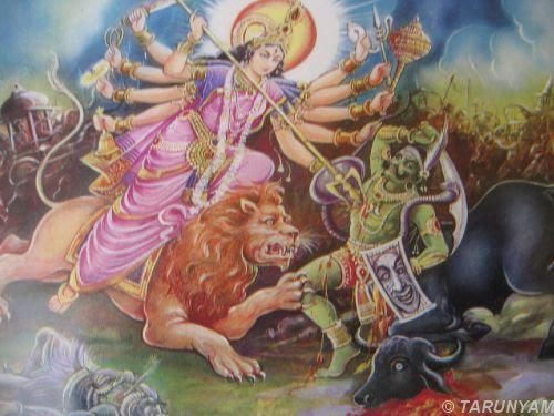 Durga by TARUNYAM