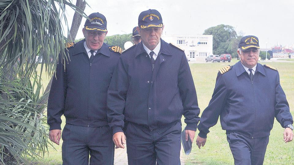 La Armada no pudo confirmar aún si los siete contactos fueron realizados desde el submarino Dudas sobre el origen de las llamadas