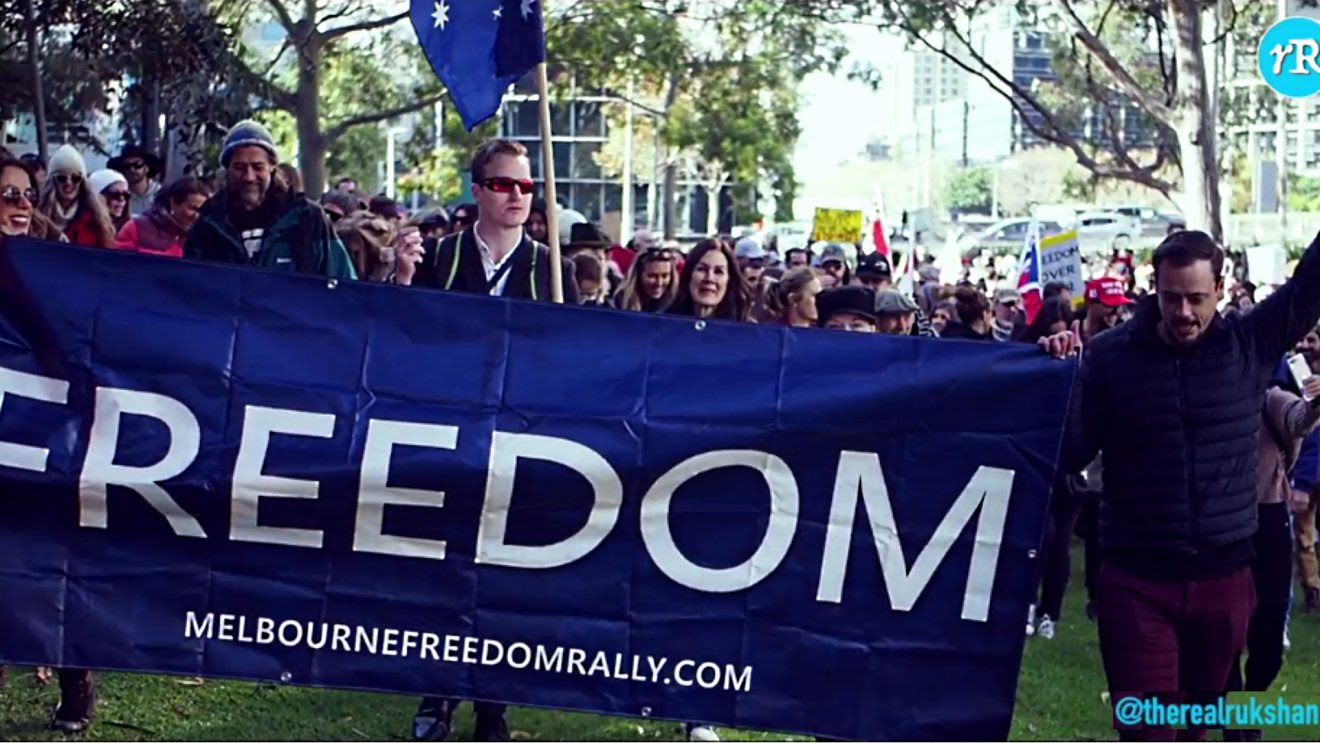 The People Are Rising: Melbourne, Australia Freedom Rally May 15, 2021 Melcover-1320x743