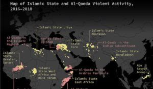 Map: Nearly four times as many jihadis around the world today than before 9/11