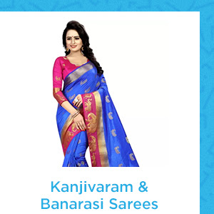 Kanjivaram and Banarasi Sarees