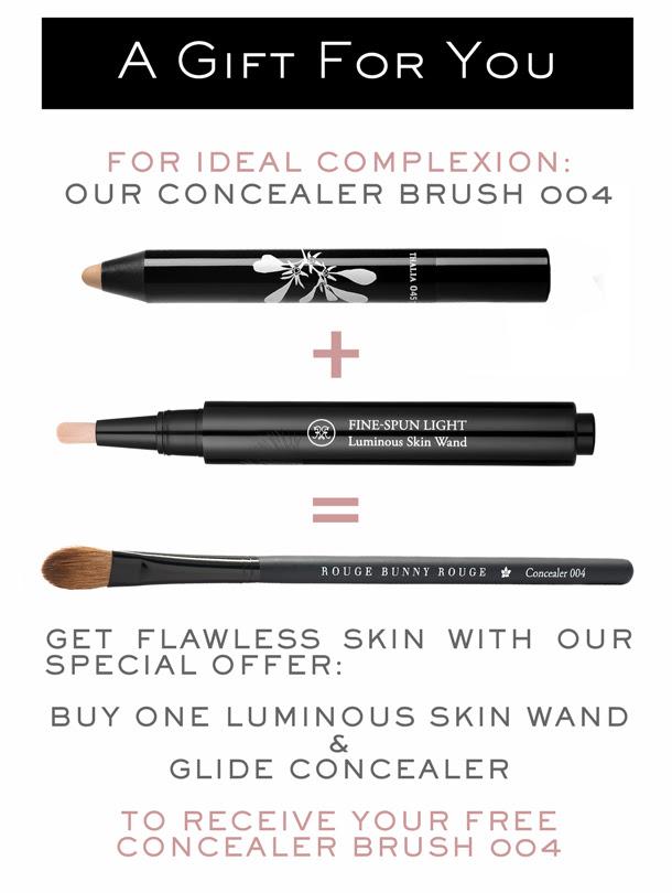 Get a free Concealer Brush 004