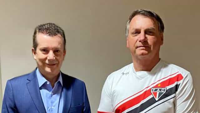 Bolsonaro: Russomanno é amigo de velha data e estou pronto para ajudar