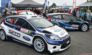 M-Sport & Elfyn Evans, Rallyday 2015