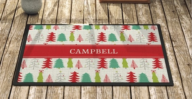 Personalized Large Doormat + M...