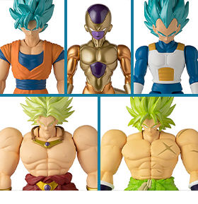 BANDAI AMERICA DRAGON BALL SUPER FIGURES