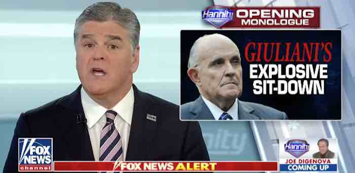 Hannity: Crucial info from Giuliani went largely overlooked