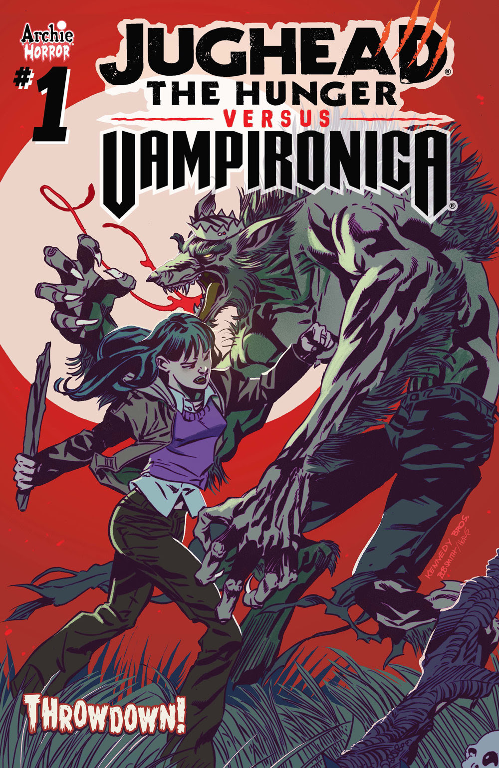 JUGHEAD: THE HUNGER VS. VAMPIRONICA #1: CVR A Kennedy