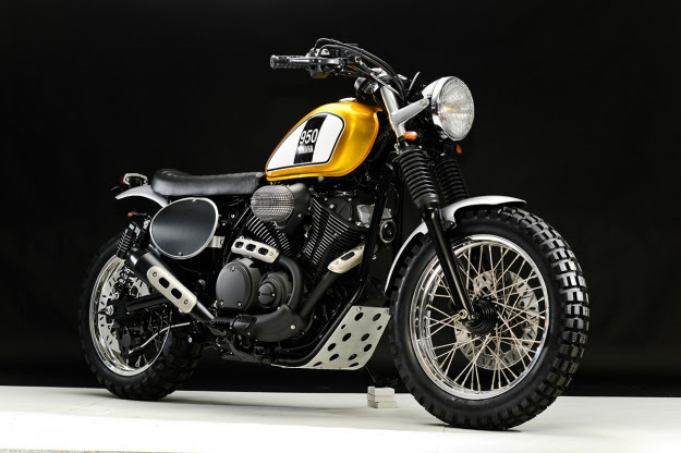 Yamaha Star Bolt custom motorcycle by Greg Hageman