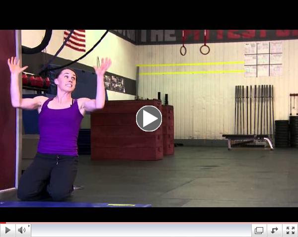 CrossFit - The Kipping Handstand Push-Up with Laurie Galassi