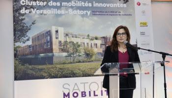 Marie-Célie Guillaume, Vice-présidente du Conseil départemental déléguée à l'économie.