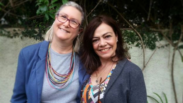 Marta Monteiro e Veronique Forat