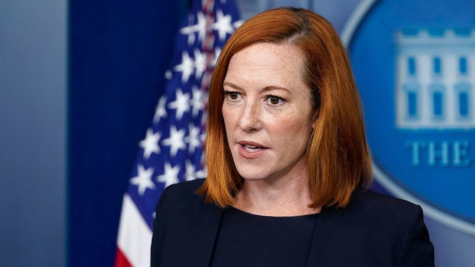 Why did Jen Psaki and reporters have a heated exchange during a press conference?