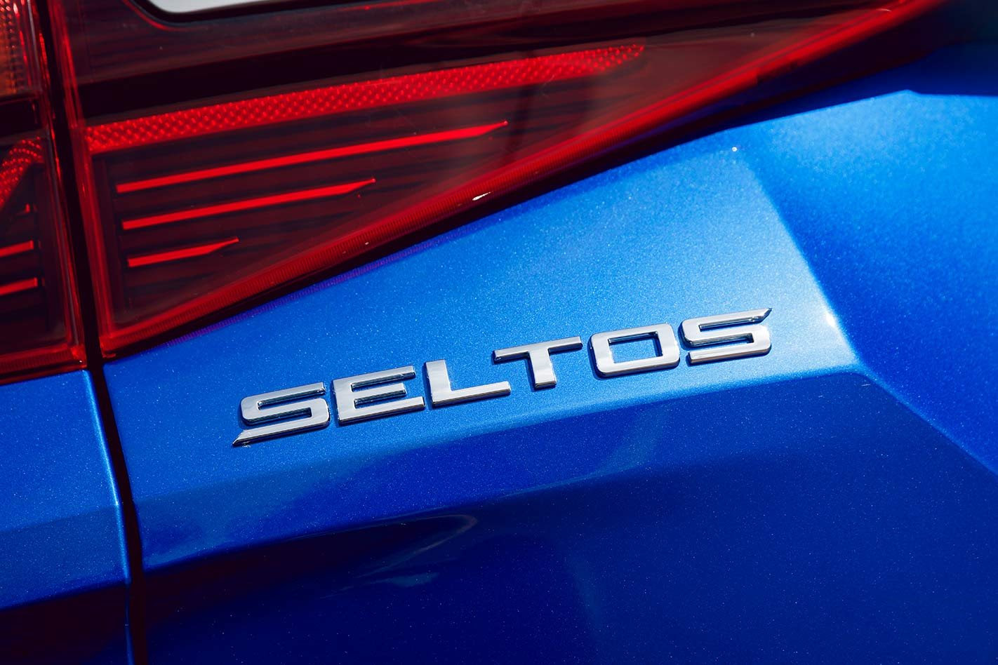 Kia Seltos badge