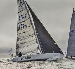 J/105 Jester sailing Rolex Fastnet Race
