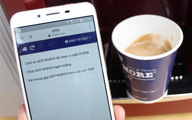 Thưởng thức cà phê chỉ bằng quét mã Zalo - Ảnh 5.