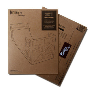 Boundless Halfpipe Packaging