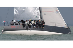 J/111 sailing Solent regatta