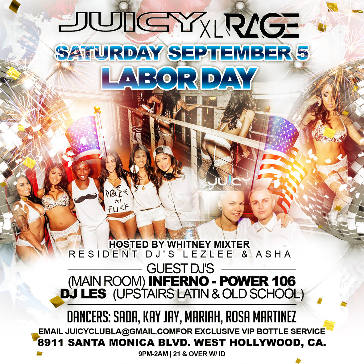 5th Annual Labor Day White Party | Juicy XL
