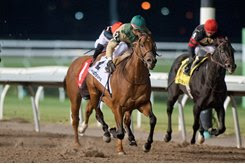 Ride a Comet takes the Kennedy Road Stakes at Woodbine