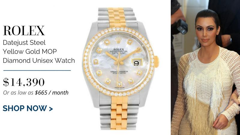 Rolex Datejust Steel Yellow Gold MOP Diamond Unisex Watch