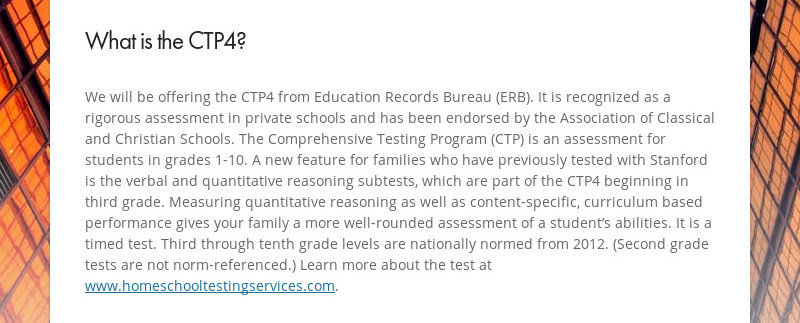 What is the CTP4?