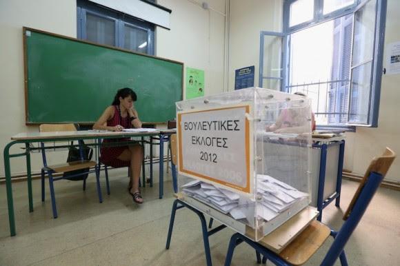 Elecciones en Grecia. Foto: Getty Images.