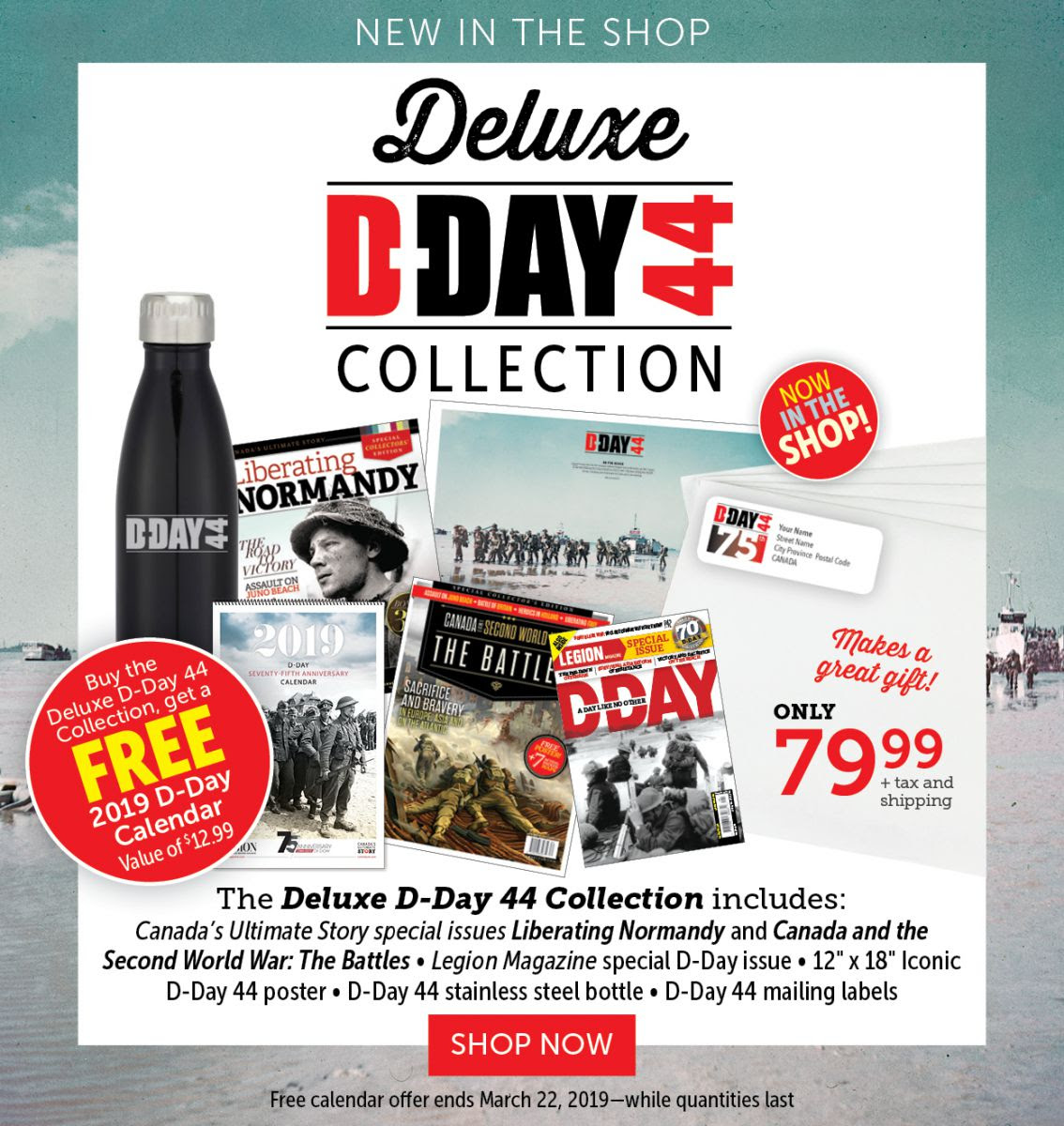Deluxe D-DAY Collection | NEW IN SHOP