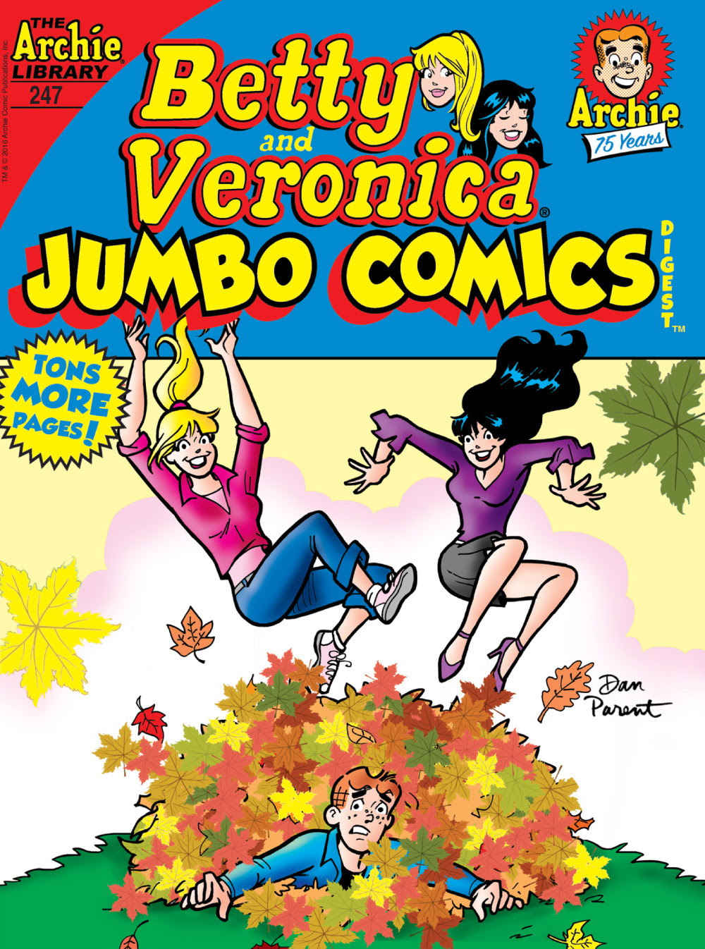 Betty and Veronica Jumbo Comics Digest #247 Cover